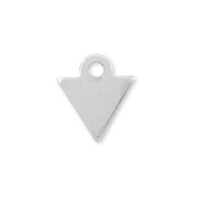 Bedel driehoekje Sterling Zilver (1x)