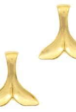 Bedel meerminstaart goud (1x)