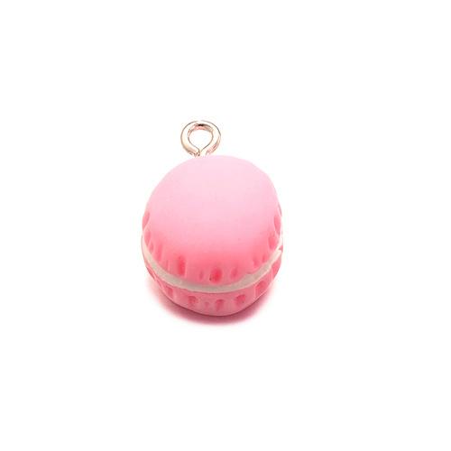 Bedel macaron roze (1x)