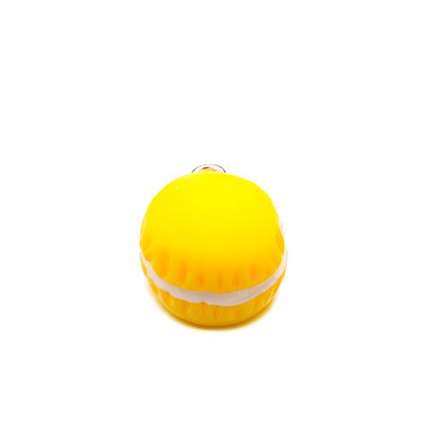 Bedel macaron geel (1x)