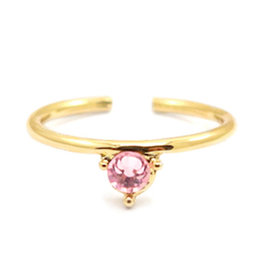 Ring goud roze