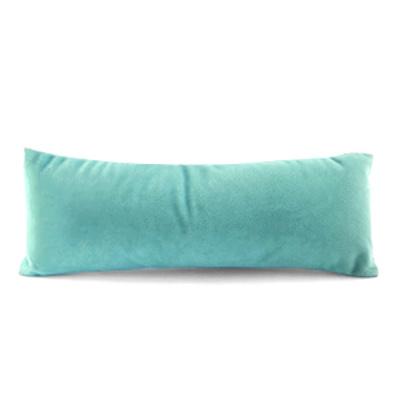 Armband display kussentje fluweel aqua groen