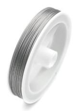 Gecoat staaldraad / metaaldraad 0,5 mm (50m)