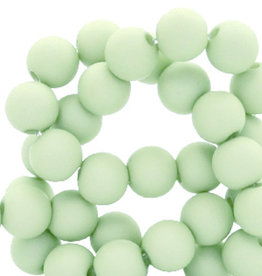 Acrylkraal mint groen 4 mm (50x)