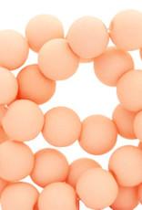 Acrylkraal perzik 4 mm (50x)