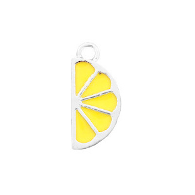 Bedel bq metaal citroen zilver (1x)
