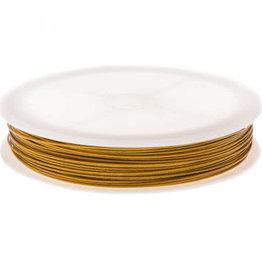 Metaaldraad goud 0.7 mm (25m)