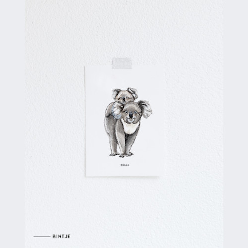 Meesie & Bintje Kaart koala