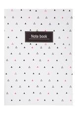 Tranquillo Notebook / schriftje driehoek