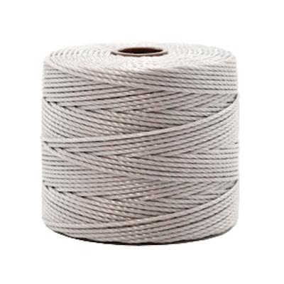 Nylon S-londraad 0,6 mm zilvergrijs (10 of 70m)