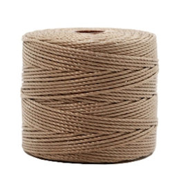 Nylon S-londraad 0,6 mm medium bruin (10m)