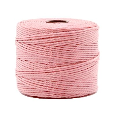 Nylon S-londraad 0,6 mm candy pink (10 of 70m)