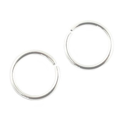 DQ buigring zilver 8 mm (25x)