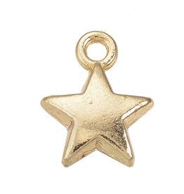 Bedel mini ster goud II (15x)