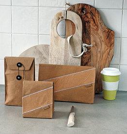 Zuperzozial Lunch- en snackzakken van wasbaar papier