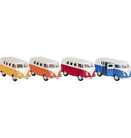 Mechato Volkswagenbus diecast (diverse kleuren)