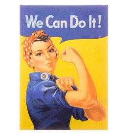 Lenticulaire bewegende kaart We can do it
