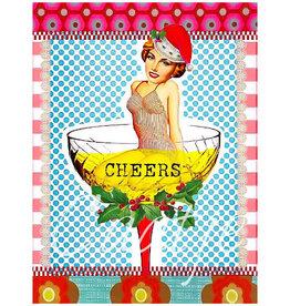 Kaartje van Caatje Postkaart Cheers