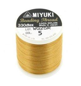 Miyukidraad goud (0.2 mm x 50m)