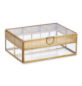 Nkuku Tama jewellery box glas
