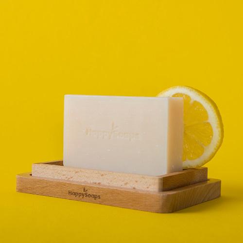 HappySoaps Afwasborstel van kokos en hout