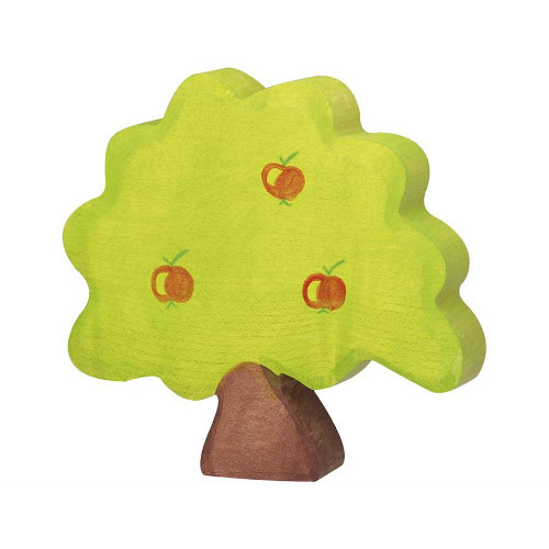 Holztiger Appelboom van hout klein