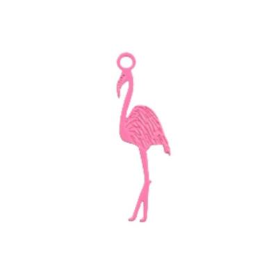 Bedel filigraan flamingo roze