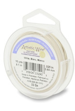 Artistic wire verzilverd wit 0.64 mm