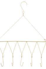 Madame Stoltz IJzeren hanger met touw en haken