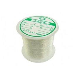 Nylondraad transparant 0,5 mm