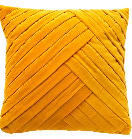 Kussen Gidi warm geel 45 cm