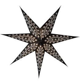 Tranquillo Papieren ster zwart 60 cm