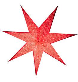 Tranquillo Papieren ster rood 60 cm