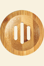 Shampoobars Bamboe zeepplankje rond