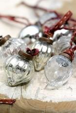 Nkuku Glazen druppelhangers (2x)