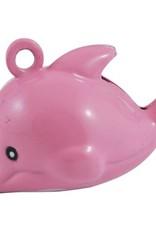 Dolfijnbelletje roze (1x)