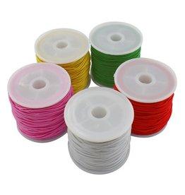 1 mm elastiek op rol- div kleuren (20m)