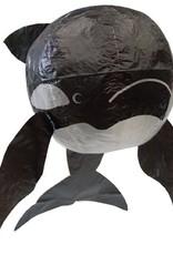 Petra Boase Japanse ballon zwarte walvis