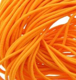 Elastiekdraad oranje 0,8 mm (3m)