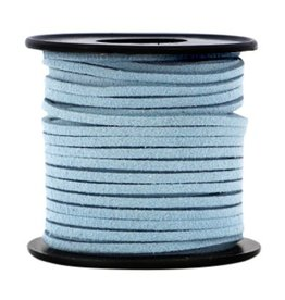 Suede sky blue 3 mm (p/m)
