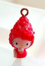 Hello Kittybedel roze muts