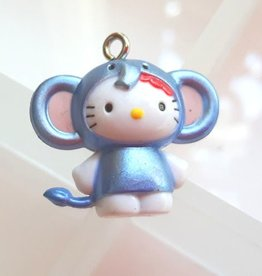 Bedel Hello Kitty blauwe olifant