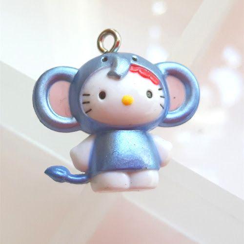 Bedel Hello Kitty blauwe olifant