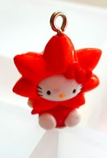 Bedel Hello Kitty oranje bloem