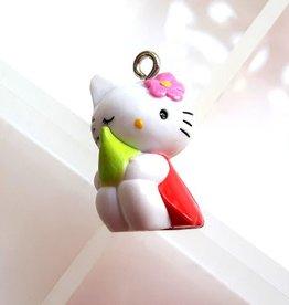 Bedel Hello Kitty met voorjaarsbolletje