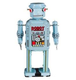 Vintage Robot R-35 lichtblauw