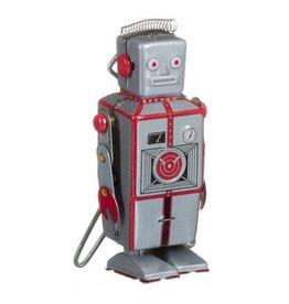 Mechato Kleine zilveren robot