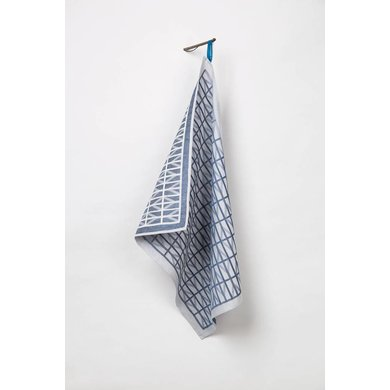 Raw Color Raw Color TextielMuseum Identity Blue Tea Towel