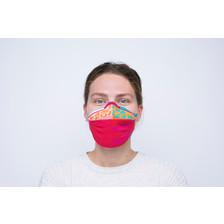 Yamuna Forzani | Design-mondkapje roze