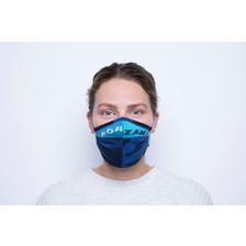 Yamuna Forzani | Design-mondkapje blauw